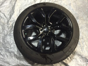 """OEM 21"""" Land Rover Range Rover wheels (Style 505) with Tires"""