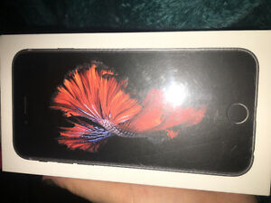 Space grey iPhone 6s 32g still in box.
