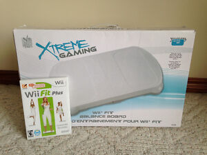 Wii Fit Plus Game and White Board