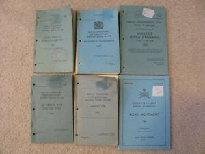 military technical booklets