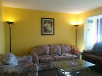 Available Fully Furnished Bed Room Basement in Whitby FOR $600