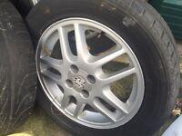 """16"""" Alloy wheels vauxhall"""