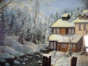"""Hand Signed and Numbered by Peter Robson """"Benmiller Inn"""" 1983 Stratford Kitchener Area image 3"""