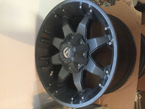 """18"""" fuel octanes 6 bolt chev/ford"""