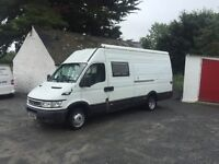2006 Iveco Daily 2.5 camper for sale
