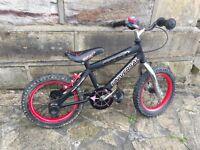 "Child's bike, 14"" wheels"