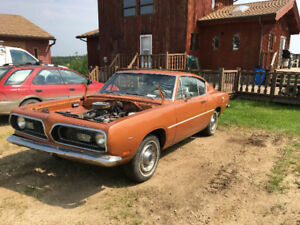 1969 barracuda fastback needs to go , no trades or tire kickers