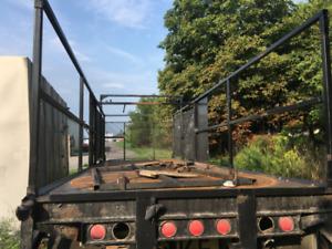 Truck platform deck