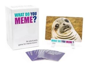 $25 !! WHAT DO YOU MEME GAME !! BNIB !!! FREE SHIPPING !!