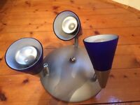 3 bulb lampshade - £4.00