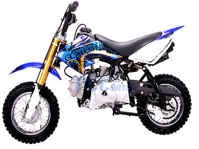 Coolster 213A New Blue 110cc Fully Auto Kid/Youth Dirt Bike BLUE