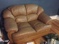 Leather loveseat for sale !