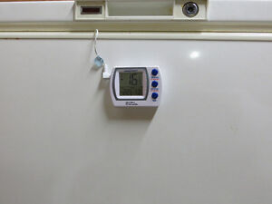 Traceable Refrigerator/Freezer Alarm Thermometer