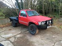 Mk4 Toyota hilux spares or repairs