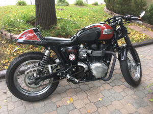 TRIUMPH T100 CUSTOM BUILD by Dime City Cycles in Florida, USA