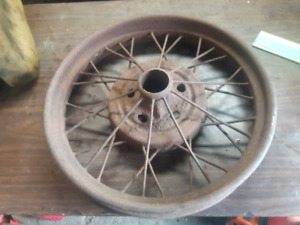 1928 1929 Ford model a rim and ford mustang hub cap