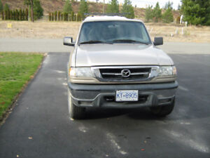 2007 Mazda  4x4 extended cab