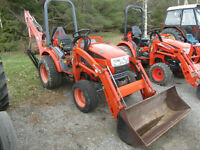 Kioti CK20 Compact Tractor and Loader/backhoe