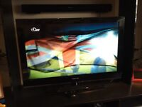 Samsung 40 inch TV, LCD, freeview, HD ready