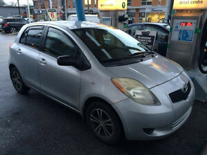 2007 Toyota Yaris LE Hatchback 4 doors Excellent condition!