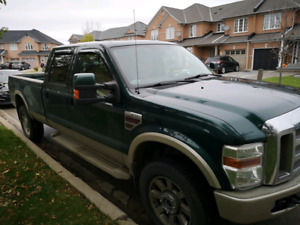 2008 Ford F-350 Super Duty King Ranch Crew 8' Box