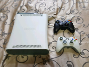 Xbox 360 60GB with 2 Controllers For Sale!