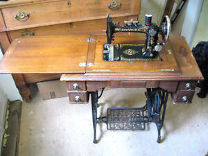 Antique Treadle Sewing machine.GONE