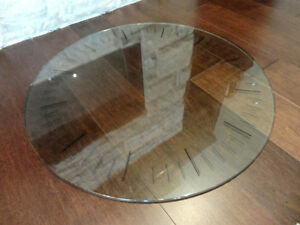 "24"" Dia. Glass Table Top or Steampunk Industrial Setting Piece Kitchener / Waterloo Kitchener Area image 2"