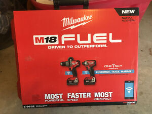 Milwaukee brushless one key 2-tool kit 2796-22