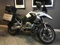 2010 60 BMW R1200 GS TU White Panniers