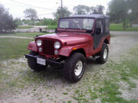 1967 jeep willys cj5 lowered price open to offers