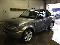 2007 Land Rover Range Rover Sport SUPERCHARGED SUV, Crossover
