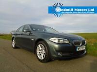 BMW 5 SERIES 2.0 520D EFFICIENTDYNAMICS 4DR TASMAN METALLIC- HUGE SPEC - £30 TAX