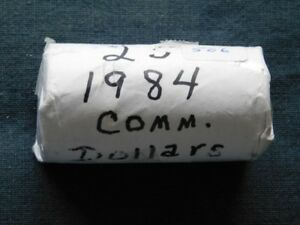 2-45 - 1984 CANADA ROLL OF COMMON NICKLE DOLLARS.