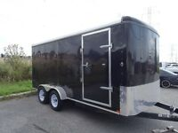Beautiful BLACK LARGE TRAILER for sale - GREAT condition