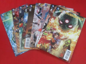 DC Comics Convergence 9 Issue Complete Arc