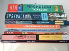 AS/A Level Psychology books x 8
