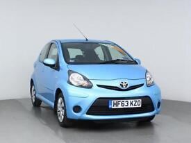2013 TOYOTA AYGO 1.0 VVT i Move Sat Nav Bluetooth GBP0 Tax