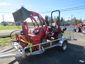 2017 TYM 254 Backhoe package