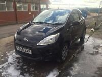 Bargain ford ka 1.2 2009, full years MOT only £30 a year tax 76k miles