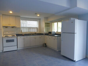 Ground level 1 bedroom apt., Separate laundry, 1000 All included