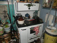 antique newfoundland Findlay Meteor WOOD and Oil STOVE