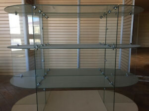 glass display showcase/cabinet, store fixtures