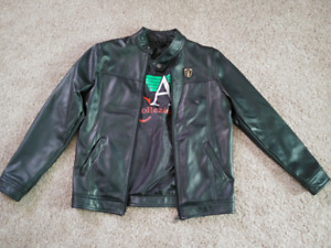 f5d8be437 Armani Leather Jacket