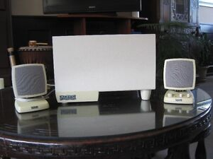 Altec Lansing speakers and woofer