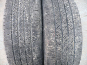 USED TIRES- PAIRS AND SETS OF 4 - AS LISTED