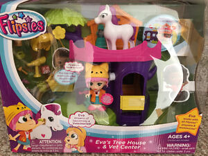 New! Vetch Flipsies Eva's Treehouse & Vet Centre Reduced!!