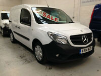 2014 Mercedes-Benz Citan 109cdi Long van with Mercedes warranty until 3/2017
