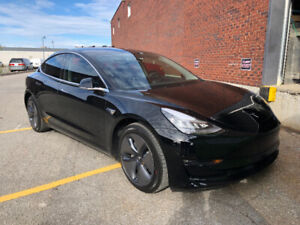 TESLA SÉRIE 3 /LONG RANGÉ / AWD SOLID BLACK