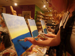 Wine and Painting Fun Parties! St. John's Newfoundland image 4